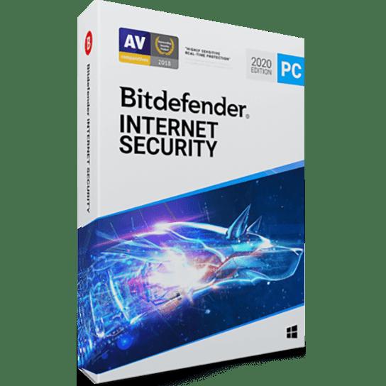 لایسنس 1 کاربره - 1 ساله - Bitdefender Internet Security اورجینال