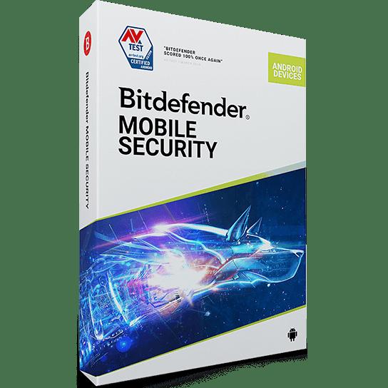 لایسنس 1 کاربره - 1 ساله - Bitdefender Mobile Security اورجینال