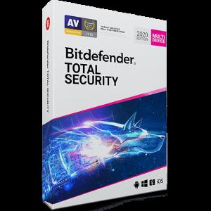 لایسنس 1 کاربره - 1 ساله - Bitdefender Total Security اورجینال